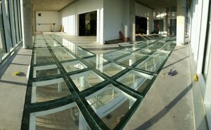 Glass Block floors